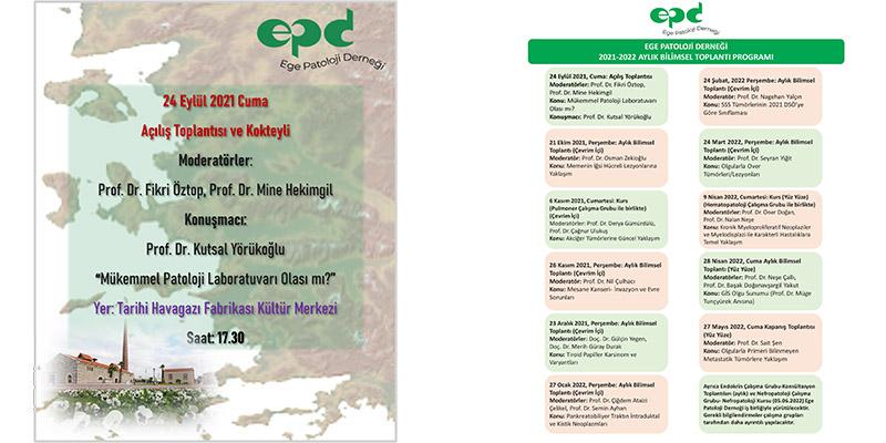 Ege Patoloji Derneği Açılış Toplantısı