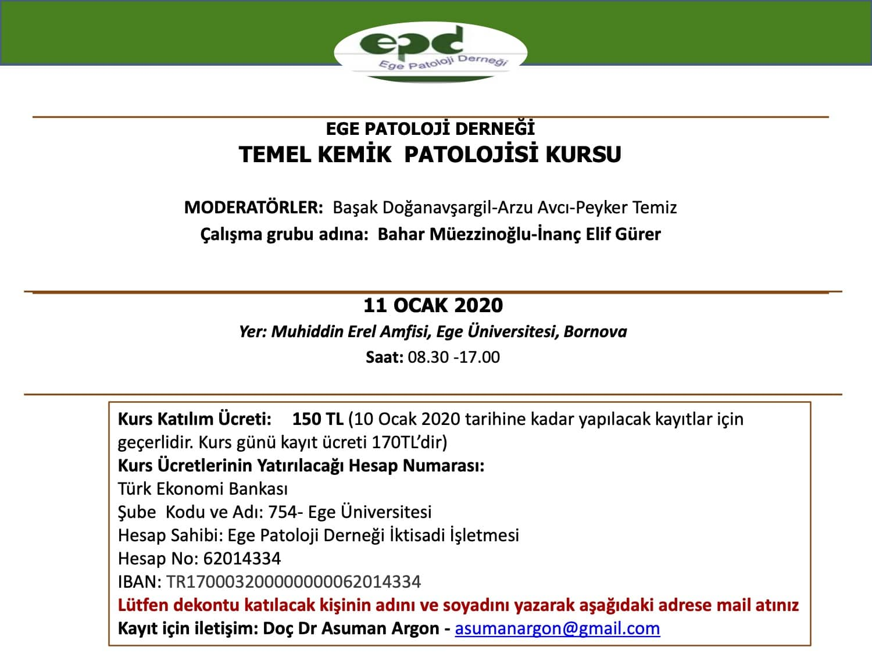 TEMEL KEMİK PATOLOJİSİ KURSU4