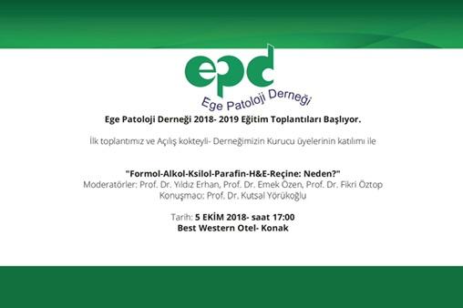 5 Ekim 2018 - Formol - Alkol - Ksilol - Parafin - H&E - Reçine; Neden?