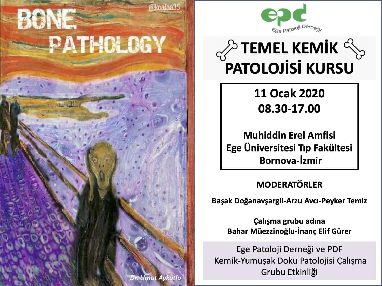 11 Ocak 2020 - Temel Kemik Patolojisi Kursu