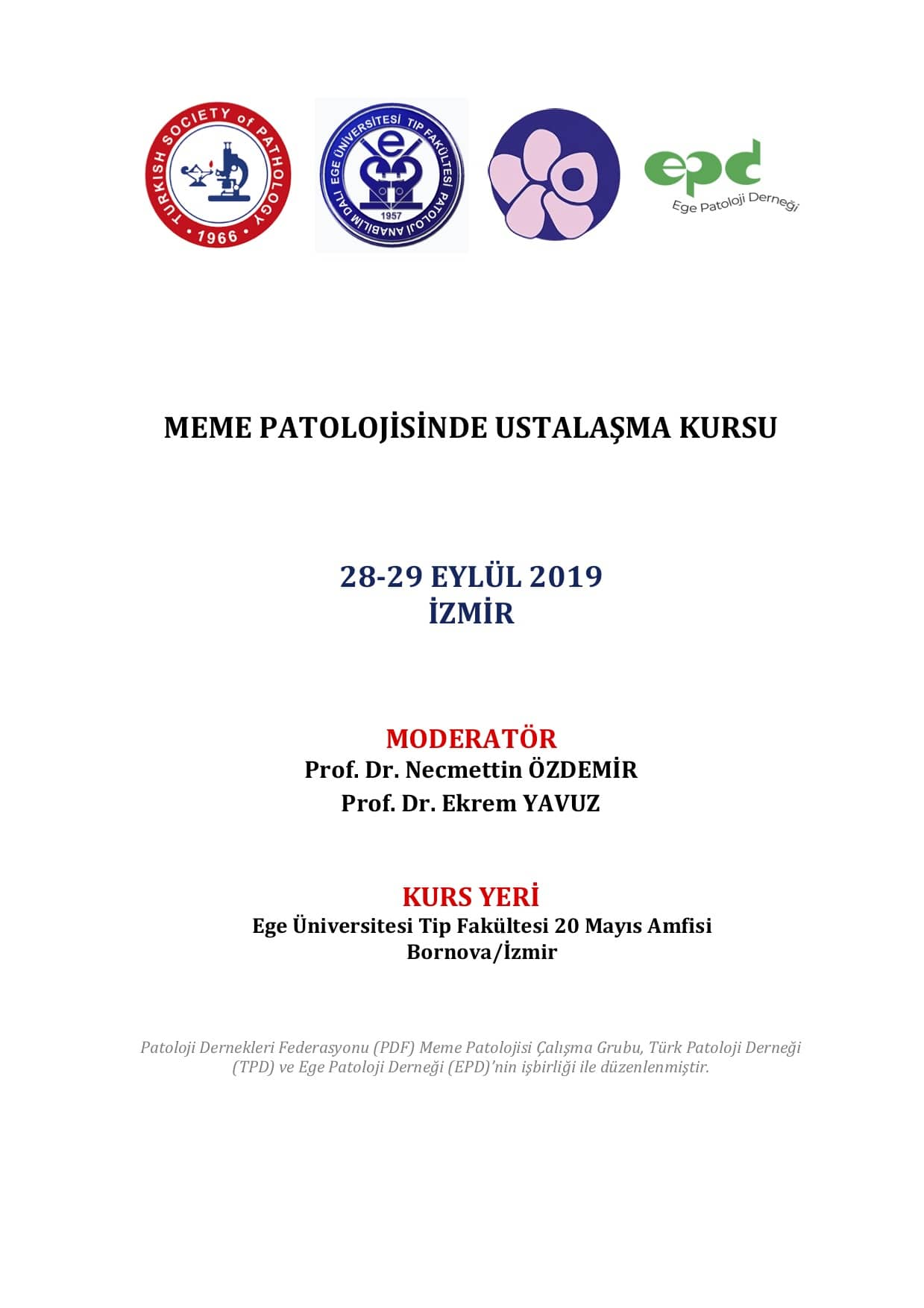 Meme Sempozyum 27-29 eylül 2019